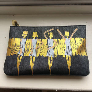 Limited Edition Ipsy Cosmetic Bag, Dancing Women